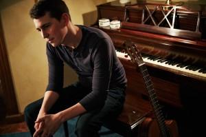 Jake at piano in Austin, TX